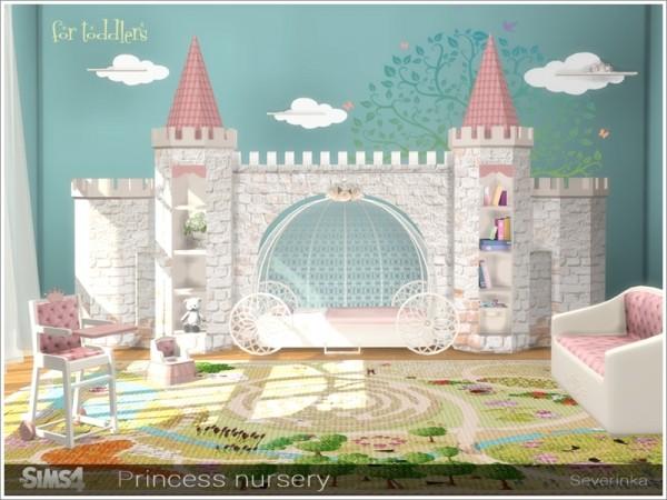 The Sims Resource Princess Nursery By Severinka Sims 4