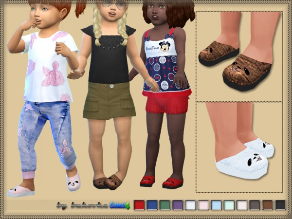 The Sims Resource: Shoes Muzzle by bukovka