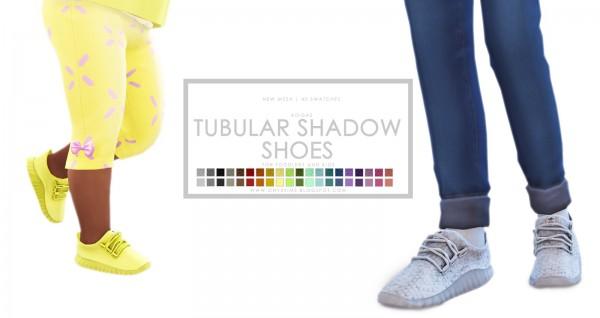 Onyx Sims: Tubular Shadow Shoes