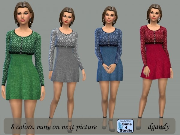 The Sims Resource: Dress with Short Jacket by dgandy