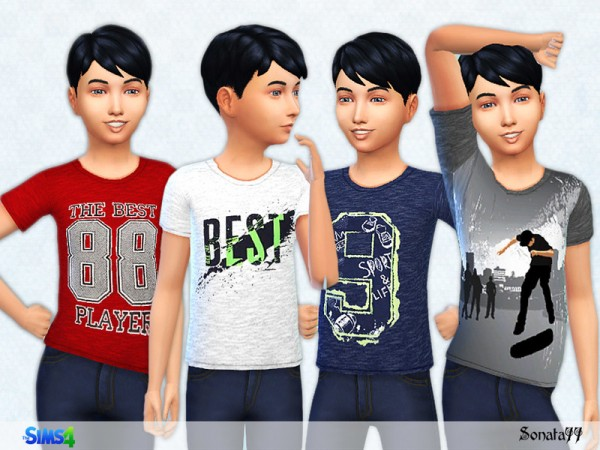 The Sims Resource: S77 boy 19 top by Sonata77