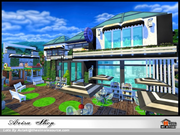 The Sims Resource: Arisa Shop by Autaki