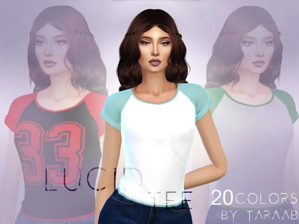 The Sims Resource: Lucid Tee by taraab