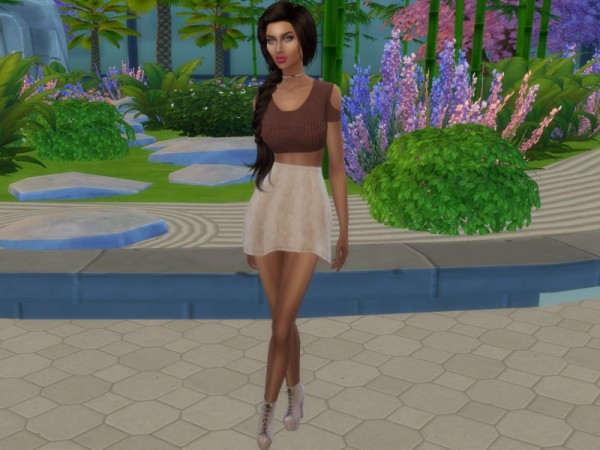 The Sims Resource: Micaela Salazar by divaka45