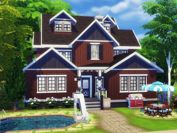 The Sims Resource: Chocolate Cherry house by MychQQQ