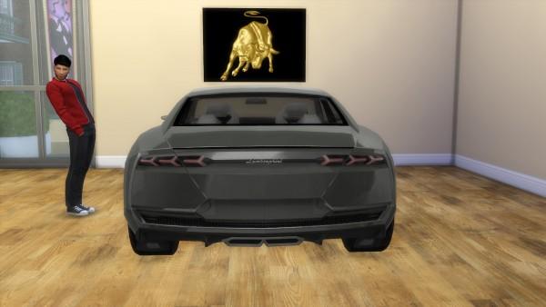 Lory Sims: Lamborghini Estoque Concept