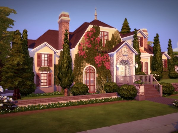 The Sims Resource Richmonde Mansion No Cc By