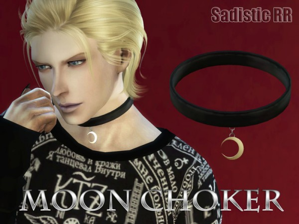 The Sims Resource Moon Choker By Sadistic Rr Sims 4