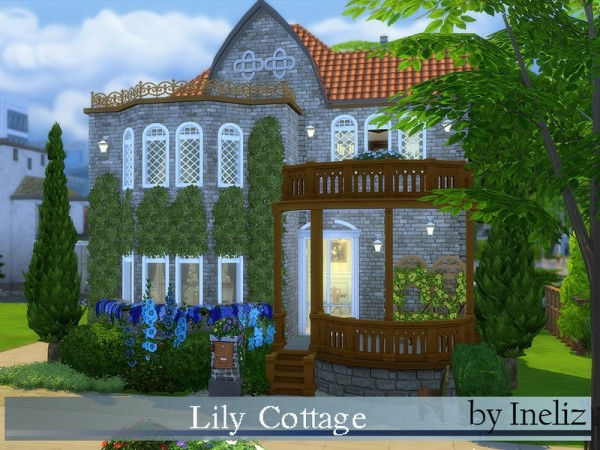 The Sims Resource: Lily Cottage by Ineliz