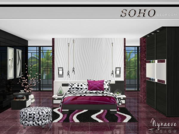 The Sims Resource: Soho Bedroom by NynaeveDesign