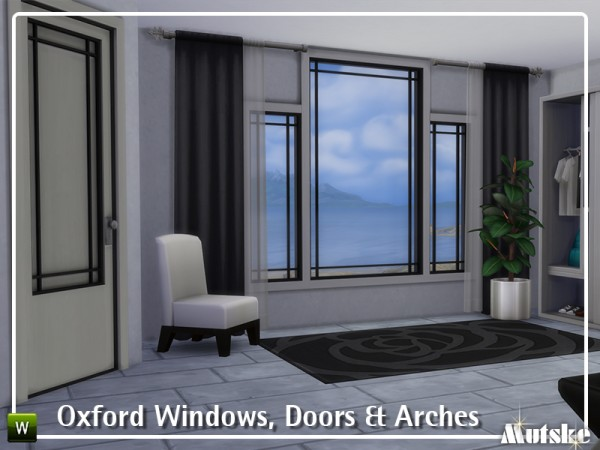 The Sims Resource: Oxford Windows, Doors and Arches by mutske