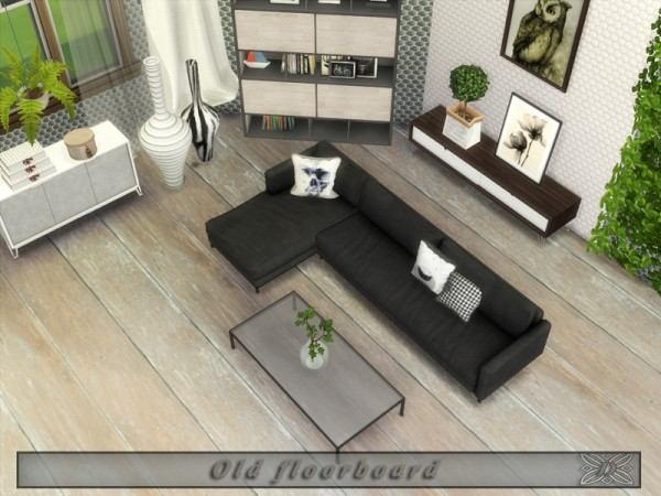 The Sims Resource: Old floorboard by Danuta720