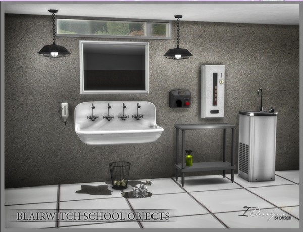 Sims 4 Designs: Blairwitch School Objects • Sims 4 Downloads