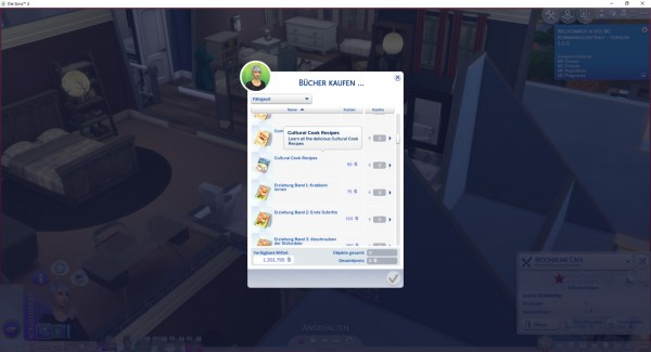 Mod The Sims: Cookbook Cultural Cook Recipes by LittleMsSam