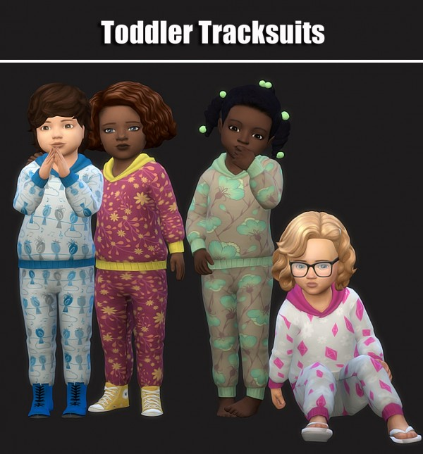 Simsworkshop: Toddler Tracksuit by maimouth