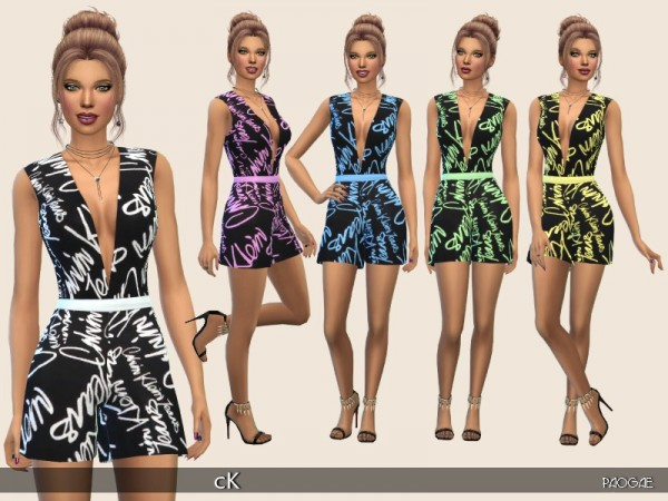 The Sims Resource: cK  dress by Paogae