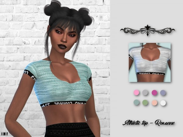 The Sims Resource: Athletic Top   Roxanne by IzzieMcFire