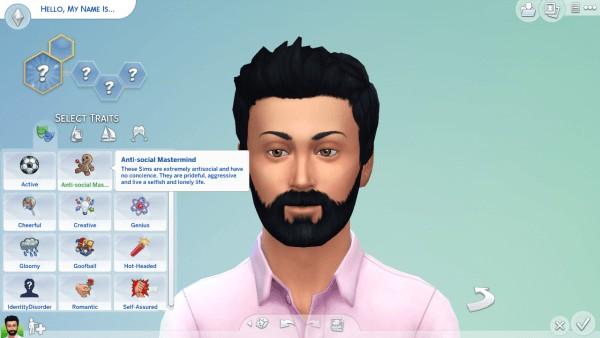 Mod The Sims: Anti Social Mastermind by Kialauna