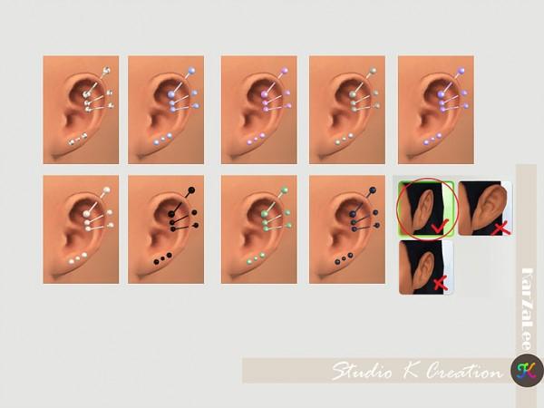 Studio K Creation: Industrial piercing 02