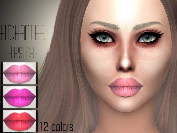 The Sims Resource: Enchanter lipstick by Sharareh