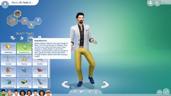 Mod The Sims: Baby Maker Trait by Kialauna