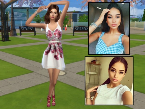 The Sims Resource: Leyla Johnson by divaka45