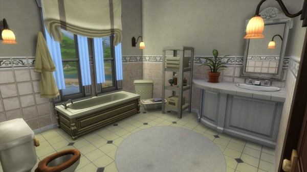 Mod The Sims: Anichkov House (no CC) by yourjinthemiddle