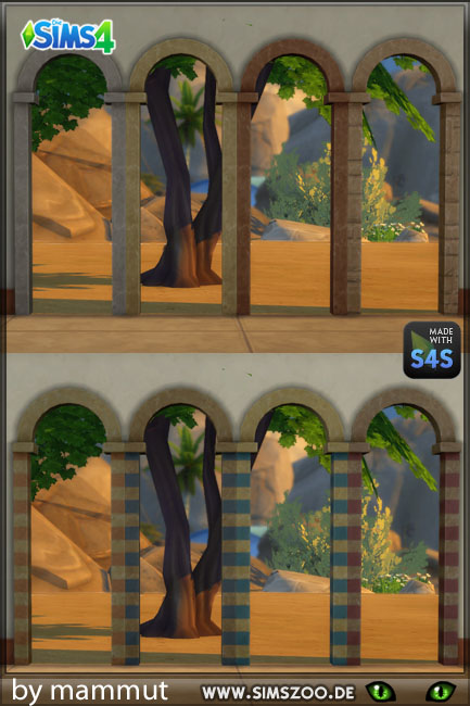 Blackys Sims 4 Zoo: Arch Early Civ 1 by mammut
