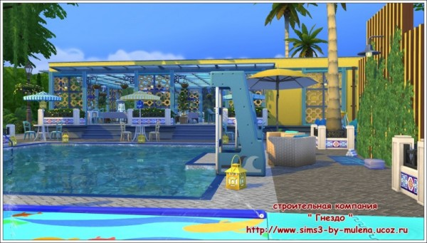 Sims 3 by mulena swimming pool neptune sims 4 downloads for Pool design sims 4