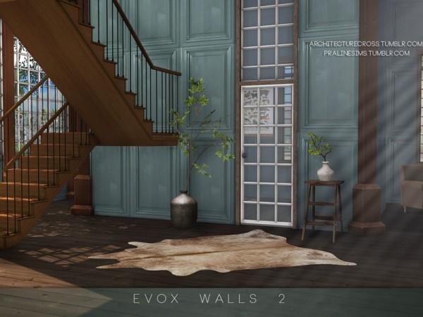 The Sims Resource: EVOX Walls 2 by Pralinesims