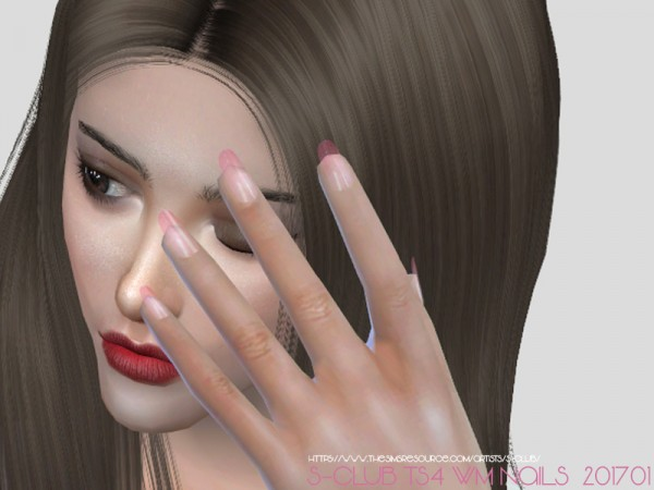 The Sims Resource: Nails 201701 by S Club