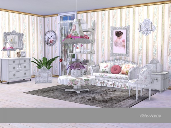 The Sims Resource: Shabby Chic Living by ShinoKCR