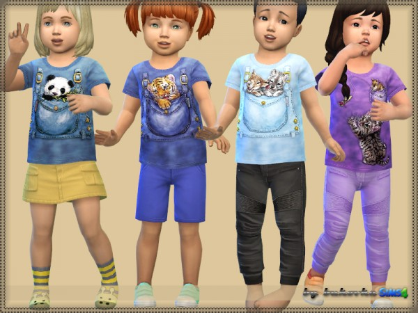 The Sims Resource: Animals in Pockets by bukovka