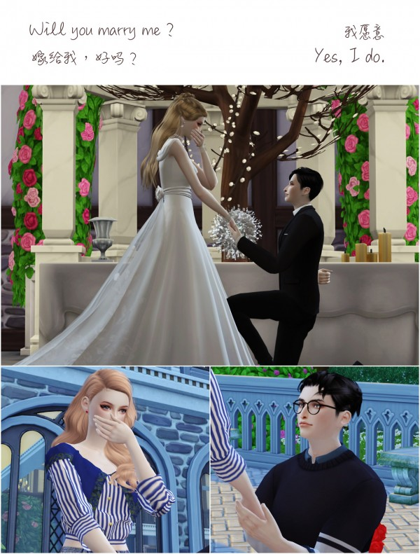 Flower Chamber: Wedding Project Poses Sets