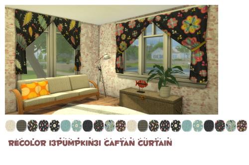 Chillis Sims: Caftan curtain recolor