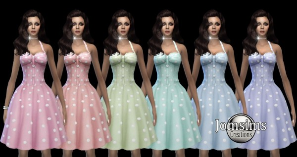 Jom Sims Creations: Miss Yissi dress