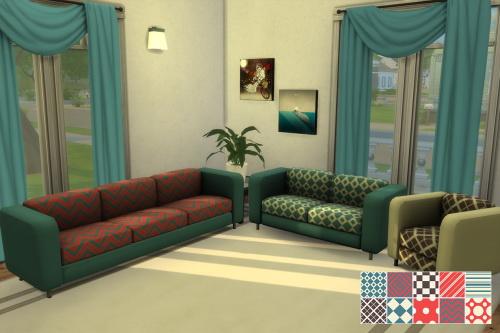 Chillis Sims: Modern steel livingroom