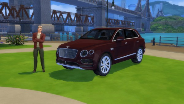 Lory Sims: Bentley Bentayga
