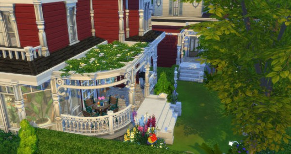Blackys Sims 4 Zoo: Charmed Villa by SimsAtelier