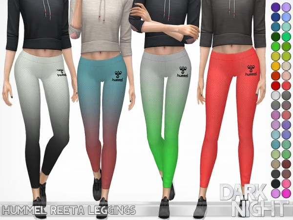 The Sims Resource: Hummel Reeta Leggings by DarkNighTt