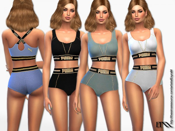 The Sims Resource: Designer Sport outfits by EsyraM