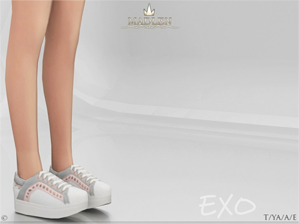 The Sims Resource: Madlen Exo Shoes by MJ95