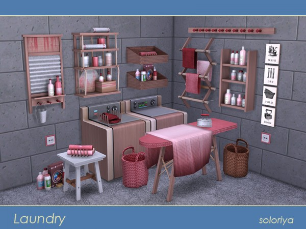 The Sims Resource: Laundry by Soloriya