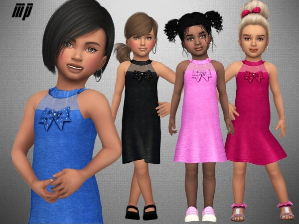 The Sims Resource: Toddler Amys Summer Dress by MartyP
