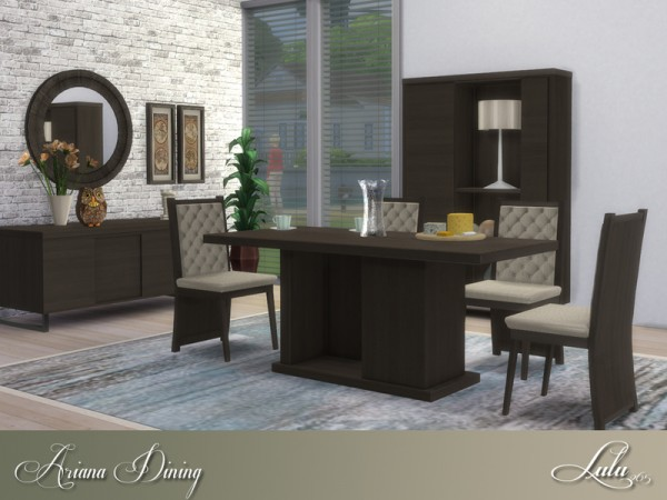 The Sims Resource: Ariana Dining by Lulu265