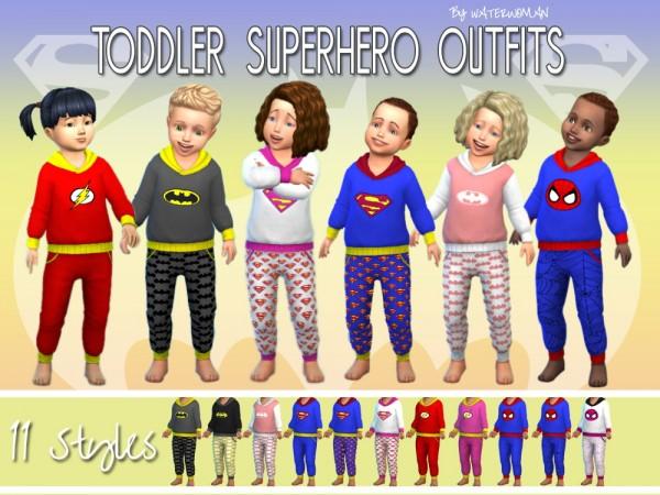 Akisima Sims Blog: Superheros Outfit