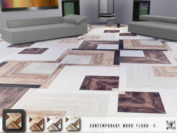 The Sims Resource: Contemporary Wood Floor 3 by .Torque