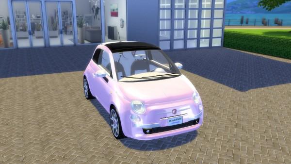 Oceanrazr Fiat 500 Lounge 2008 Sims 4 Downloads