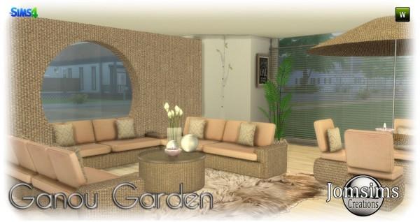 Jom Sims Creations: Ganou Garden