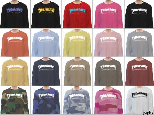 kk sims: Thrahser sweatshirts